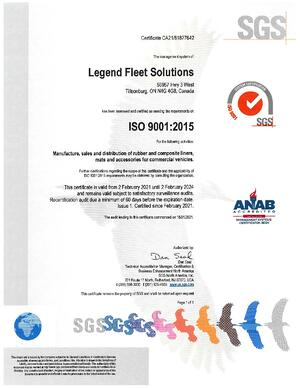 Legend Fleet_c939309_Issue 1 Certificate